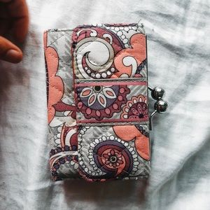 Vera Bradley Small Wallet and Change Purse✨